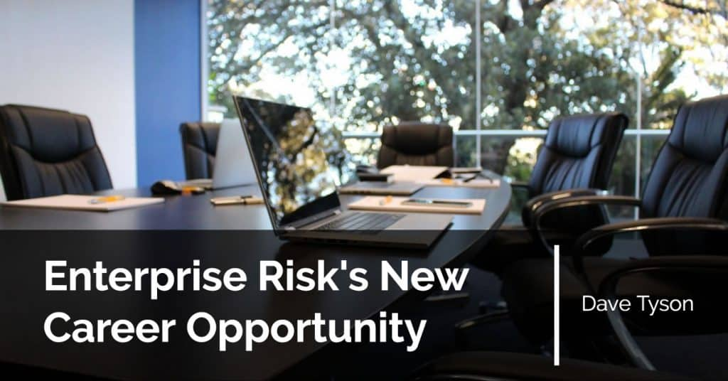 Enterprise Risk New Career Opportunity